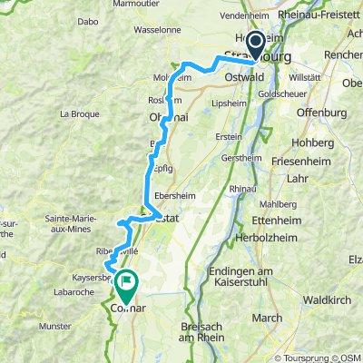 Strassburg - Colmar