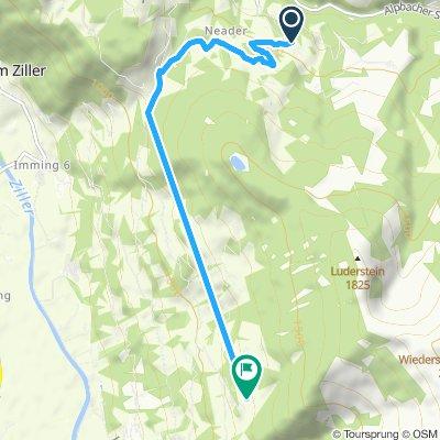 Route im Schneckentempo in Hart im Zillertal