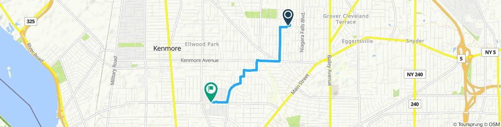 Easy ride in Buffalo