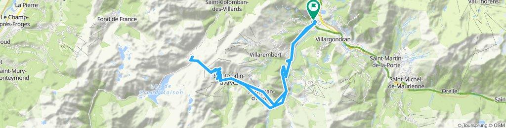 Col de la Croix de Fer and Glandon