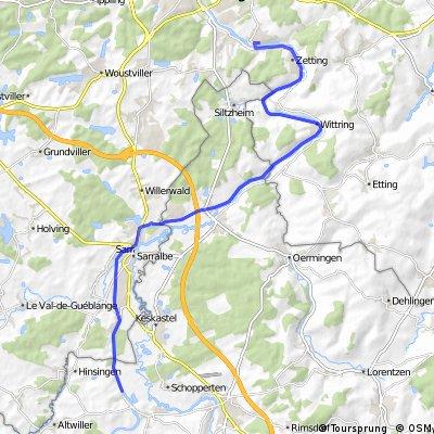 Saar Kohle Kanal in lothringen CLONED FROM ROUTE 81992