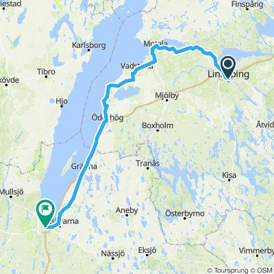 Linköping-Motala-Borghamn-Jönköping