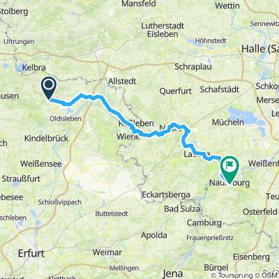 Bad Frankenhausen - Naumburg