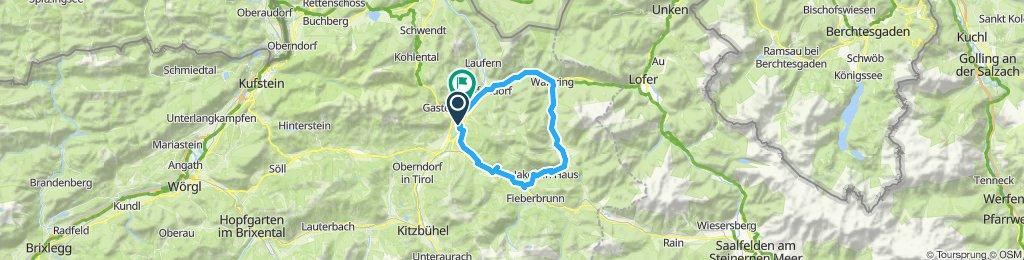 E-Bike Runde Pillersee