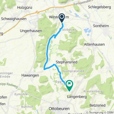 Langsame Fahrt in Ottobeuren