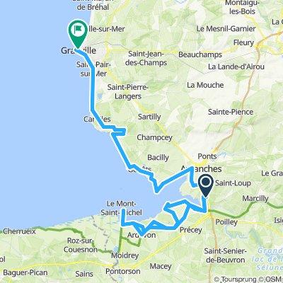 Saint-Quentin-sur-le-Homme Cycling