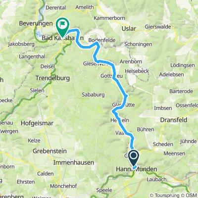 Weserradtour 1