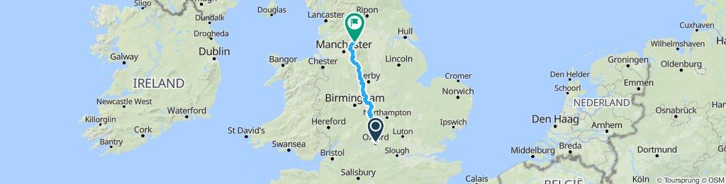 Ride to Slaithwaite to see Matt