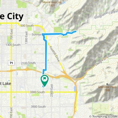 Easy ride in Salt Lake City