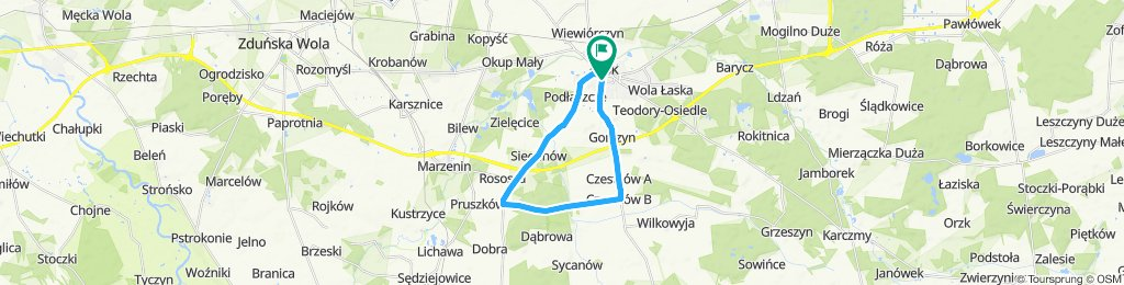 IX Supermaraton Jastrzębi Łaskich 2019 - Dystans Rodzinny