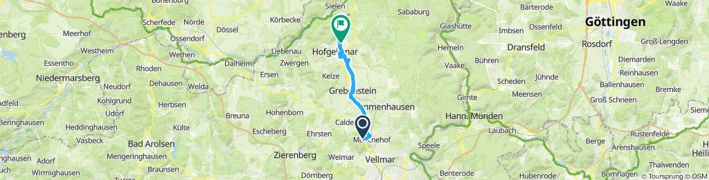 Moderate Route in Hofgeismar