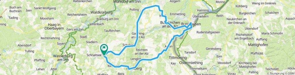 Harpfing - Trostberg - Burghausen - Altötting