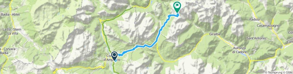 Cortina Tre croce