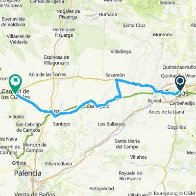 CAMINO day 4 Burgos - Carrion de los Condes