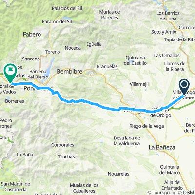 CAMINO day 6 Viladangos del Paramo - Villafranca del Bierco