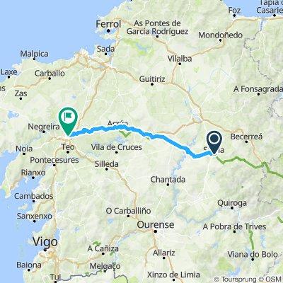 CAMINO day 8 Sarria - Santiago de Compostela