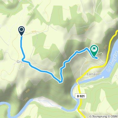 Itinéraire modéré en Neuvéglise