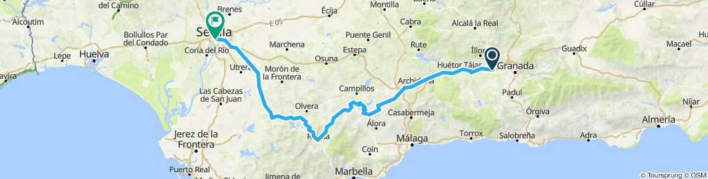 Spain Trip - Via Caminito Del Rey-Sevilla
