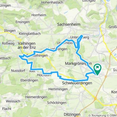 Möglingen Hochdorf Untermberg Mög. 47 km 410m