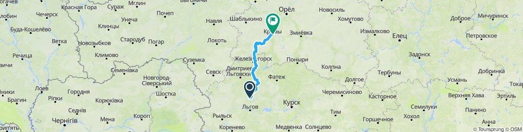 E16 Konchevka - Kromy