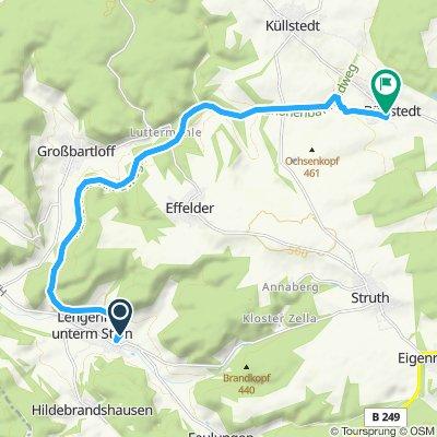 Route Lengenfeld über Annaberg