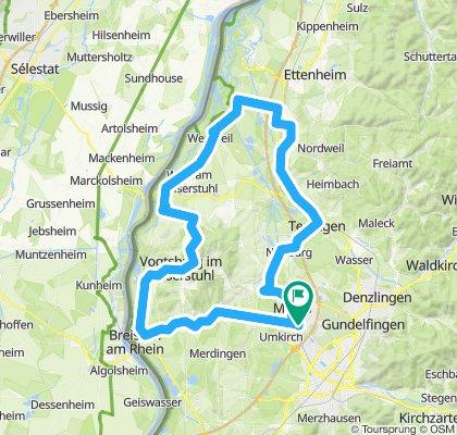 Route am Kaiserstuhl