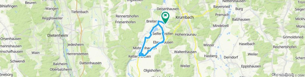 Gemütliche Route in Breitenthal