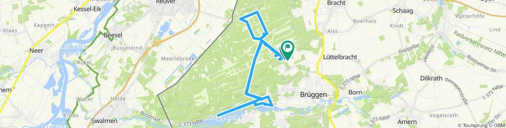 Gemütliche Route in Kempen