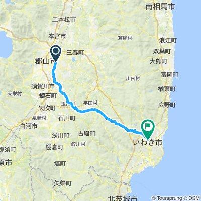 Cycle 3: Koriyama - Iwaki