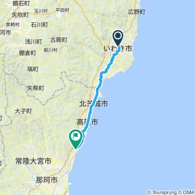 Cycle 4: Iwaki - Hitachi