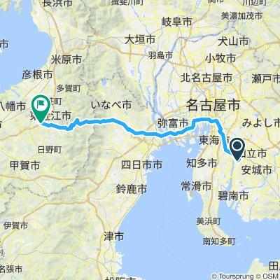 Cycle 12: Kariya - Higashiomi