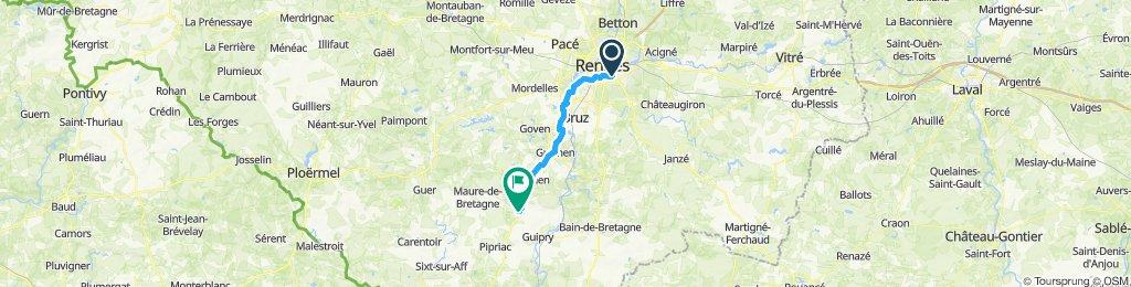 Rennes - Vilaine - Lohéac
