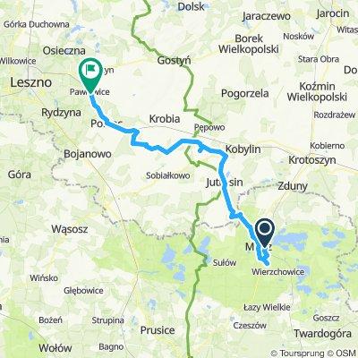 Milicz - Pawłowice