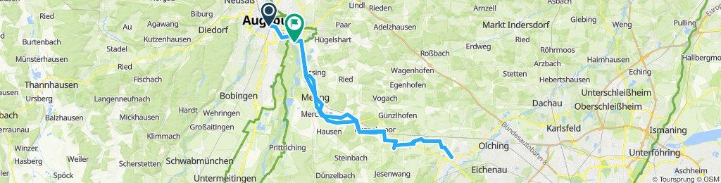 augsburg - fürstenfeldbruck