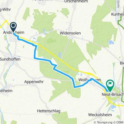 Andolsheim to Neuf-Brisach-2