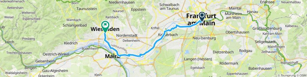 Gutzkow Str. to Wiesbaden Hbf