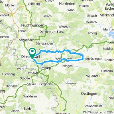 Rund um den Hesselberg 50km