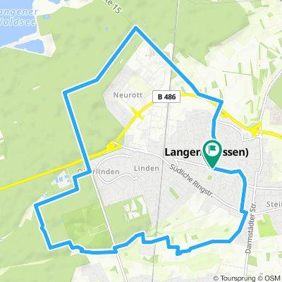 Langen - male kolko