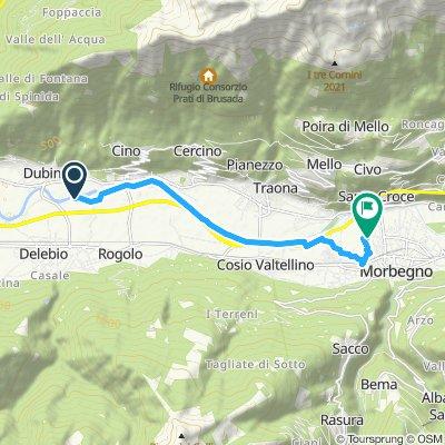 Easy ride in Cosio Valtellino