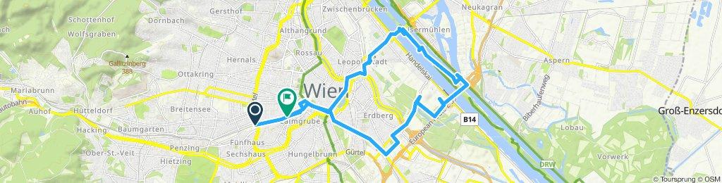 Rundfahrt mit Pausen in Wien