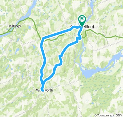 Campbellford to Warkworth