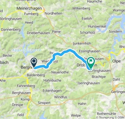 Gemütliche Route in Olpe