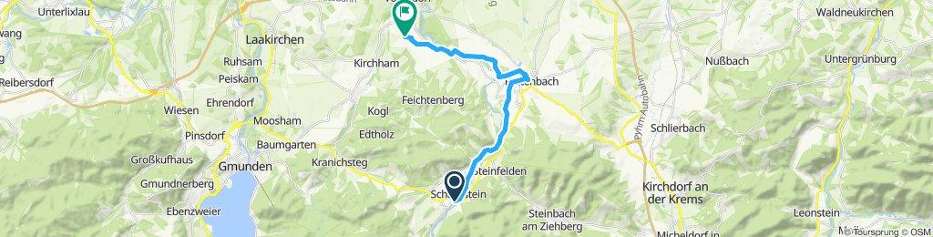Einfache Fahrt in Vorchdorf
