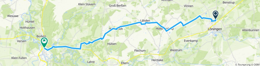Von Löningen Nach Meppen