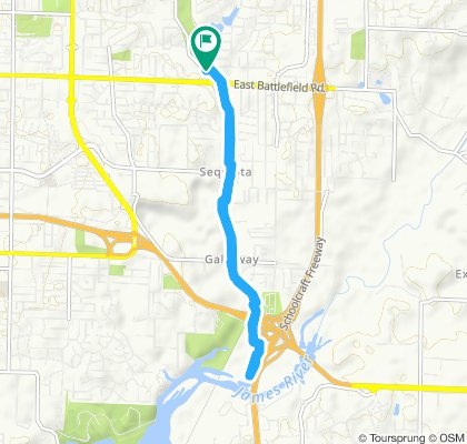 first bicycle ride in Springfield 2019 of June 1st!