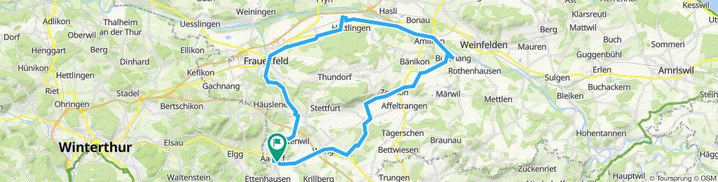 Aadorf-Bussnang-Frauenfeld-Aadorf