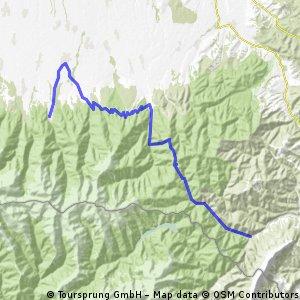 6(b). Tag - Mountainbike Reise durch die rumänischen Karpaten >>> http://www.kette-rechts-reisen.de