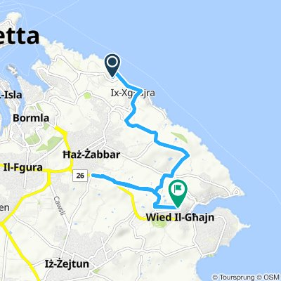 Steady ride in Marsascala