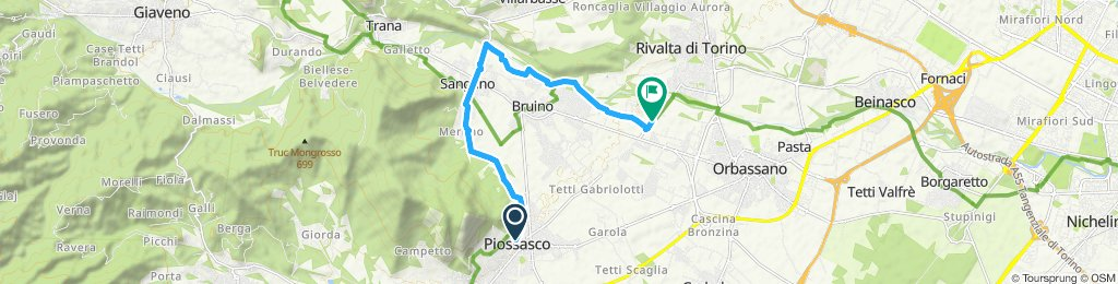 Giro semplice in Rivalta di Torino