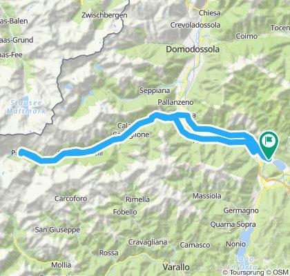 Lago di Mergozzo 2019: Valle Anzasca - Macugnaga